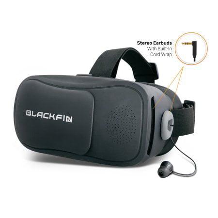 Black Fin® AR/VR Headset - Gray - Walmart com