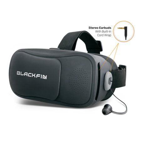 7a47d58b31c5 Black Fin® AR VR Headset - Gray - Walmart.com