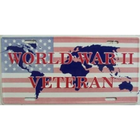 World War Veteran License Plate - image 1 de 2