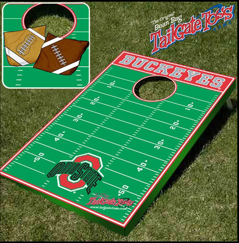 Ohio State Tailgate Toss Cornhole Beanbag Game