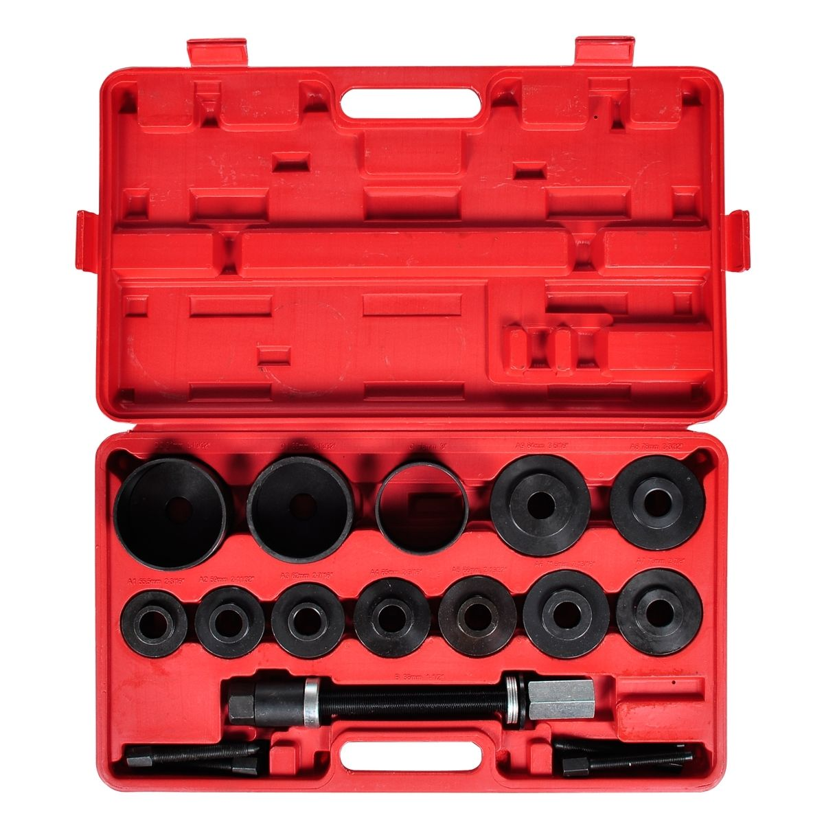 23 pcs FWD Front Wheel Removal Tool Kit Drive Bearing Puller Master Set Hub & Case by