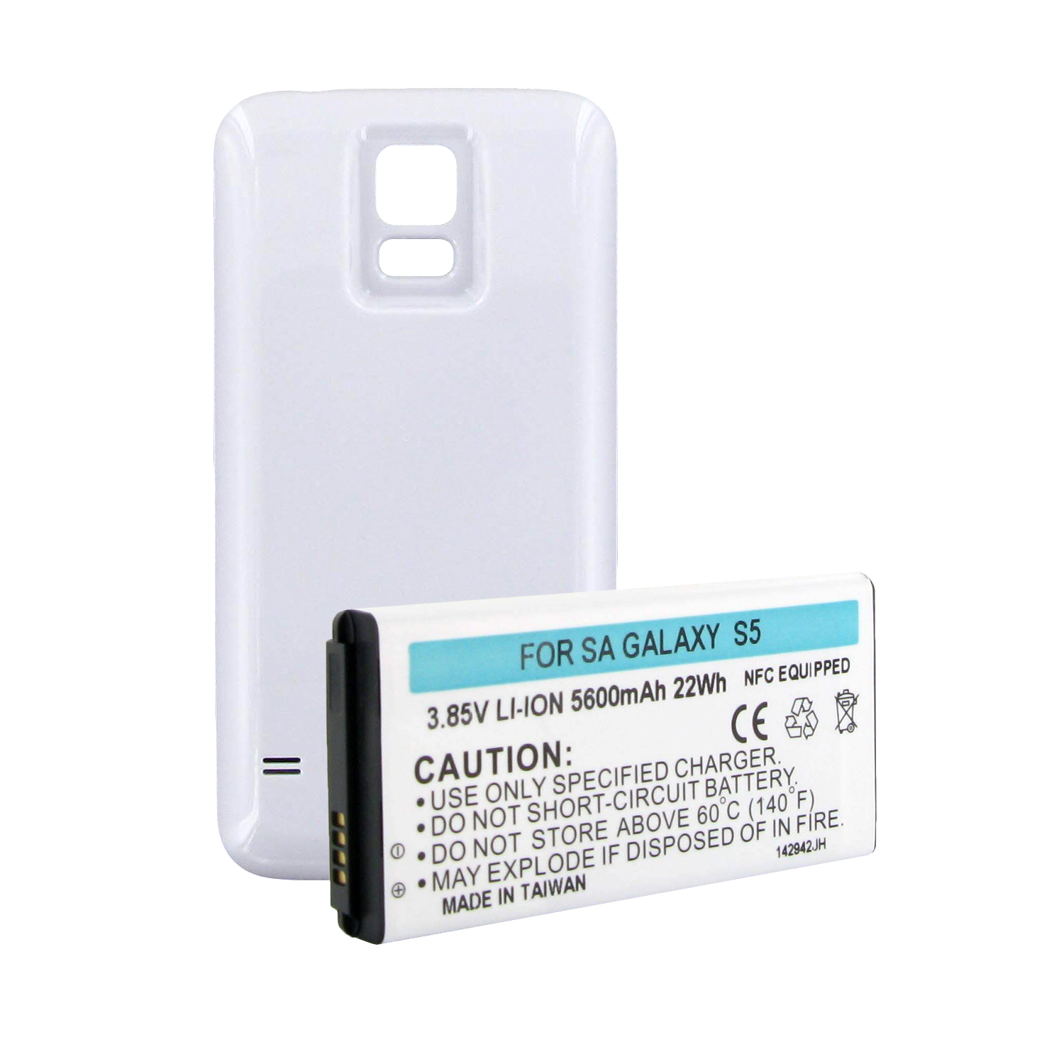 Empire Industries SAMSUNG GALAXY S5 EXTENDED BATTERY W/NF...