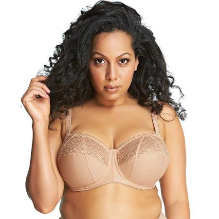 9ac63bbae9 Goddess - Women s Adelaide Plus-Size Underwire Strapless Bra