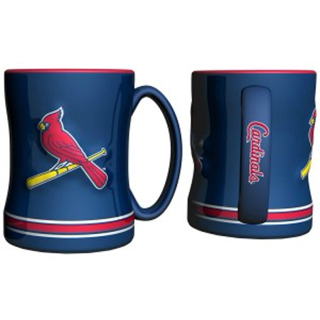 St. Louis Cardinals Coffee Mug - 15oz Sculpted - image 1 de 1