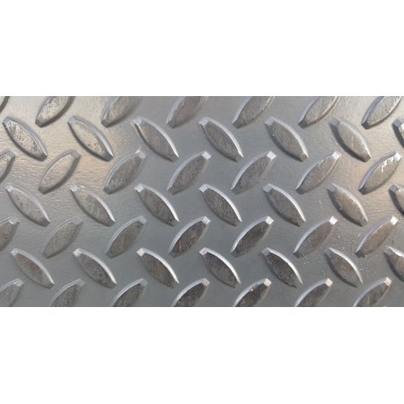 Canvas Print Metal Metal Grid Texture Non-Slip Pattern Stretched Canvas 10 x 14 10' Non Ferrous Metal