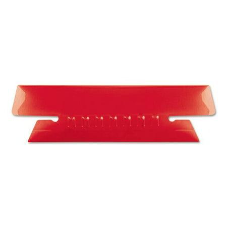 Folder Tabs 3 Tab - Esselte Pendaflex Corporation Hanging File Folder Tabs, 1/3 Tab, 3 1/2 Inch, 25/Pack