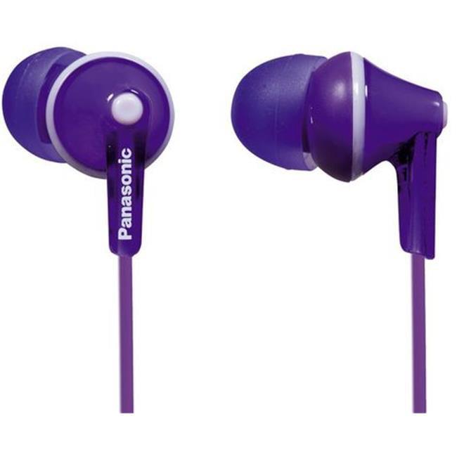 Panasonic RP-HJE125-V Ergofit In-Ear Violet Earphone