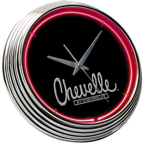On The Edge Marketing Chevrolet 14.75'' Chevelle Neon Wall Clock