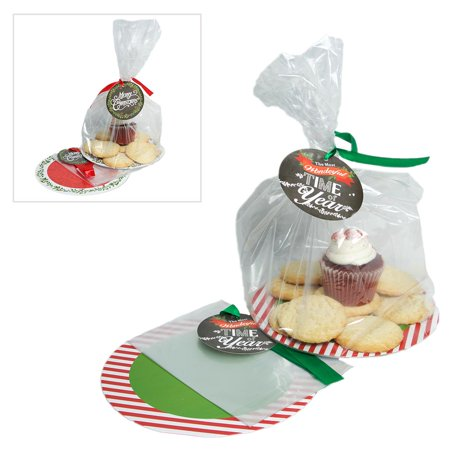 Christmas Cookie Tray Gift - Christmas Cookie Basket