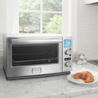 Black Amp Decker Digital Extra Wide Convection Toaster Oven