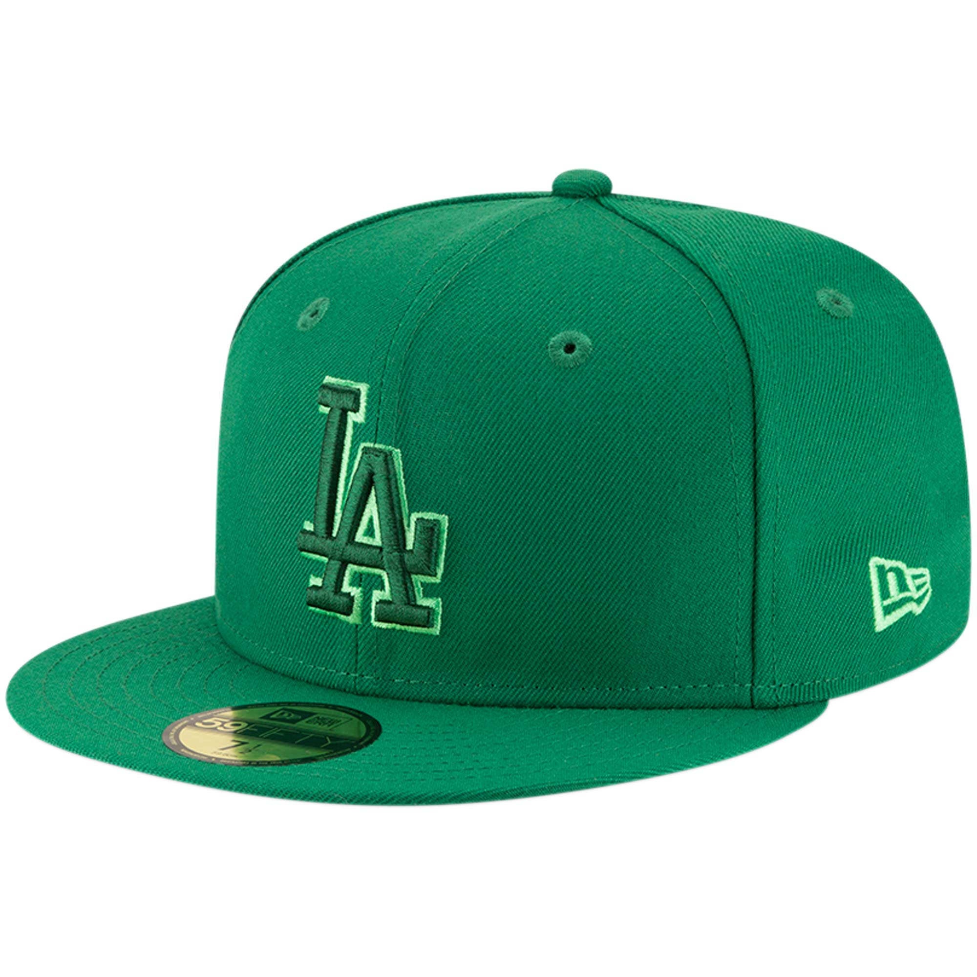 Los Angeles Dodgers New Era League Pop 59FIFTY Fitted Hat - Green