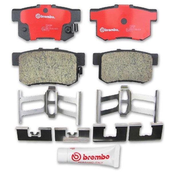 Rides2Racers Premium NAO Ceramic OE Equivalent Pad 2008