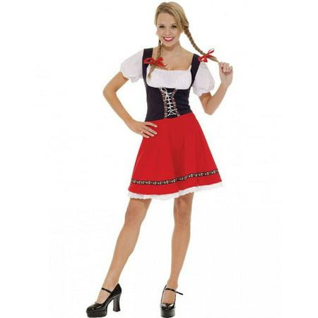 Heidi Adult Costume - Heidi Halloween