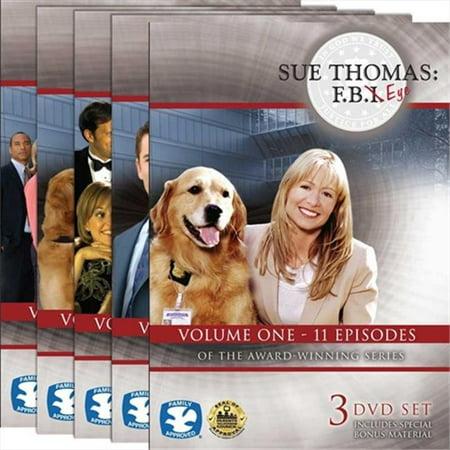Harris Communications DVD440 Sue Thomas - F. B. Eye Volumes 1-5 DVD Set