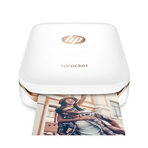 Refurbished HP X7N07A Sprocket Photo Printer - White