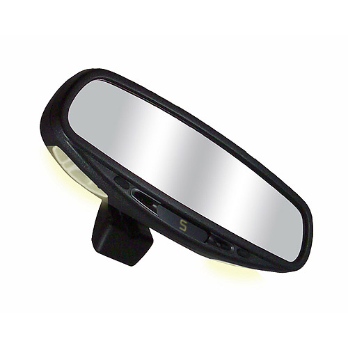 CIPA 36300 Wedge Base Auto Dimming Mirror with Compass and Map Lights by CIPA