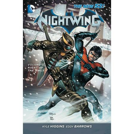 Nightwing Vol. 2: Night of the Owls (The New 52) - Nightwing Bird