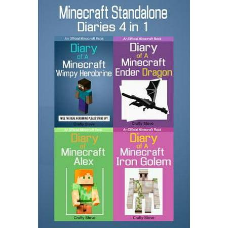 Minecraft Standalone Diaries 4 In 1 Minecraft Alex Iron Golem