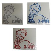 Graphic Designs 31Fun PEE ON X WIFE Vinyl Decal Sticker, 31 FUN