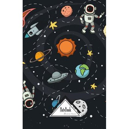 Notebook Bullet Journal Dot-Grid, Graph, Lined, Blank No Lined : Astronaut Space NASA Cute Icon: Journal to Write In, Small Pocket Notebook Journal Diary, 120 Pages, 5.5 X -