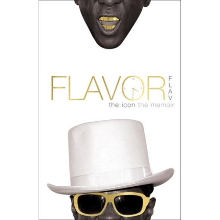 Flavor Flav: The Icon The Memoir - - Flavour Flav Clock