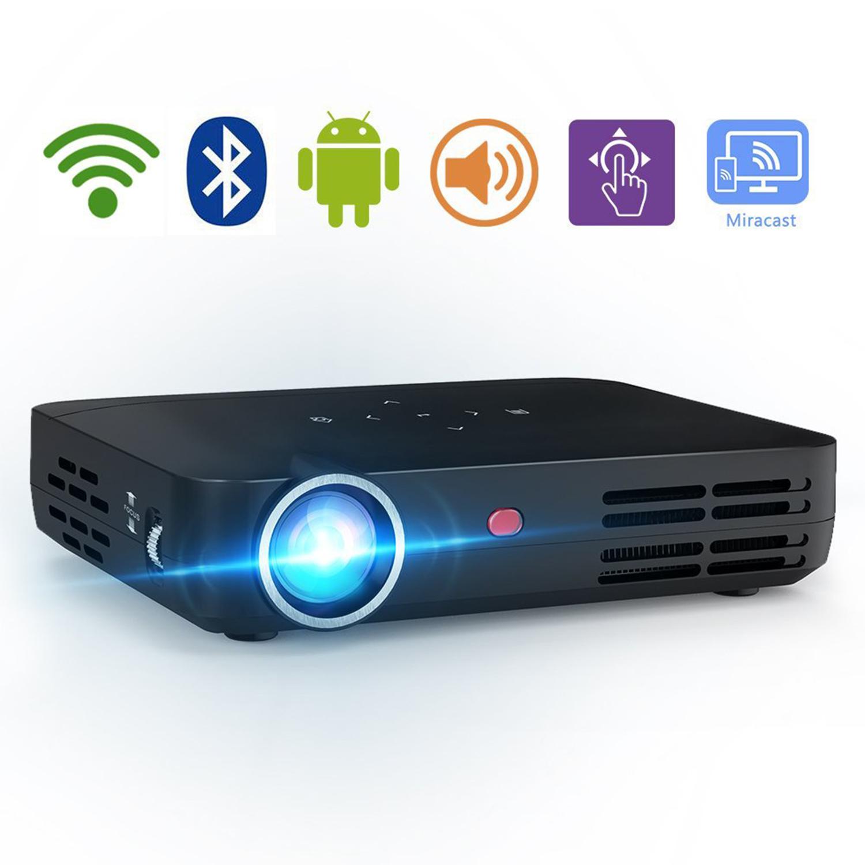 Tenswall Video Projector DLP LED 1280x800 HD 3D Support 1...