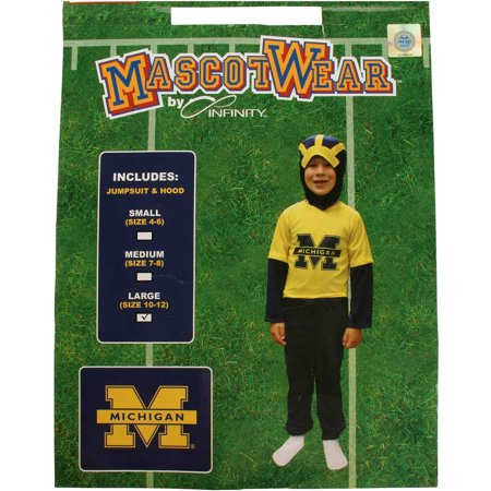 College Boy Halloween Costume Idea (Michigan Wolverines Youth Halloween)