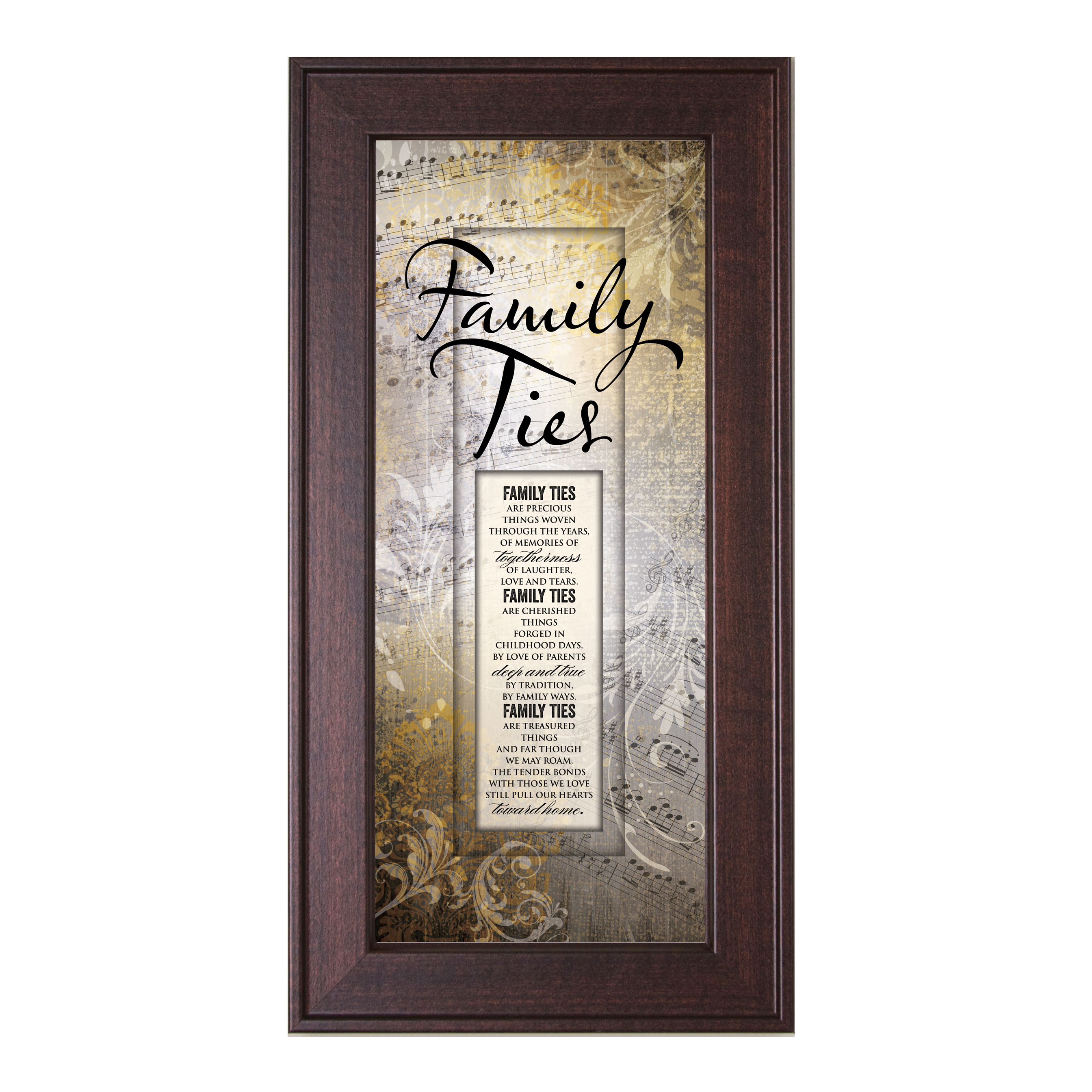 James Lawrence 'Family Ties' Framed Wall Art