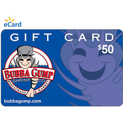 Bubba Gump Shrimp Co.$50 eGift Card (Email Delivery)