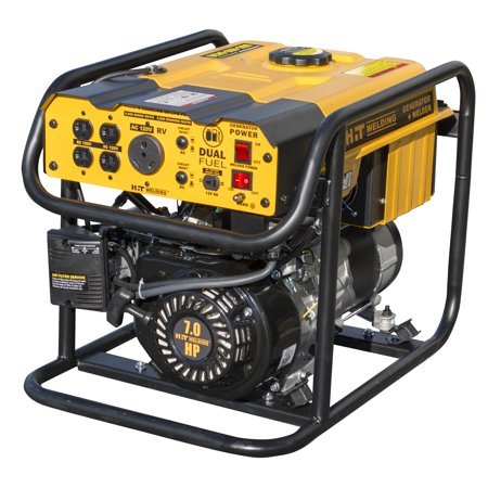 HIT Dual Fuel 4000 Watt Generator 85 Amp Stick Welder Combo TIG Ready