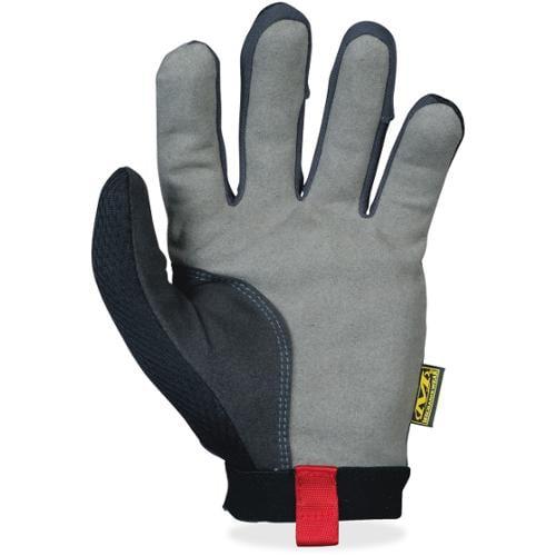Mechanix Wear 2-way Form-fit Stretch Utility Gloves - 10 Size Number - Large Size - Lycra, Spandex, Leather Palm, Leathe