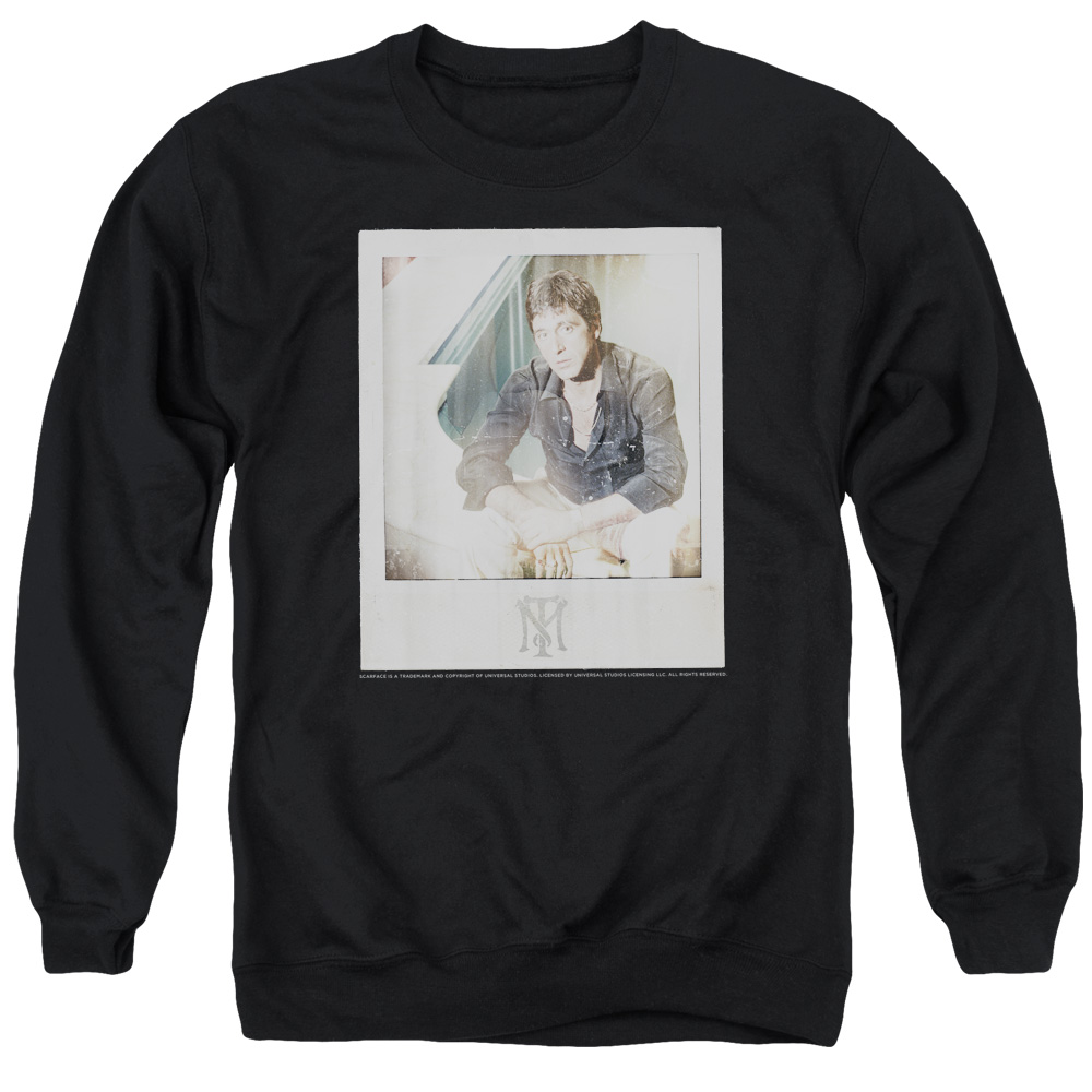 Scarface Off Guard Mens Crewneck Sweatshirt