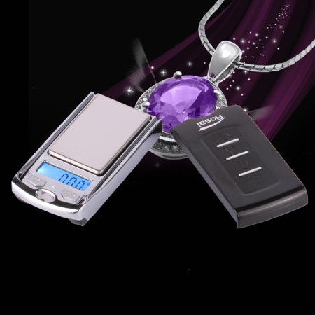 Ktaxon Car Key Mini Digital Pocket Gram Scale Jewelry Weight Electronic Scale 100g/0.01 (Greek Key Mini)