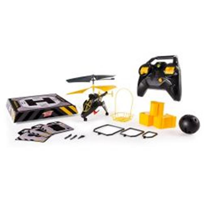 Air Hogs Mission Alpha RC Helicopter Black by GrandGames
