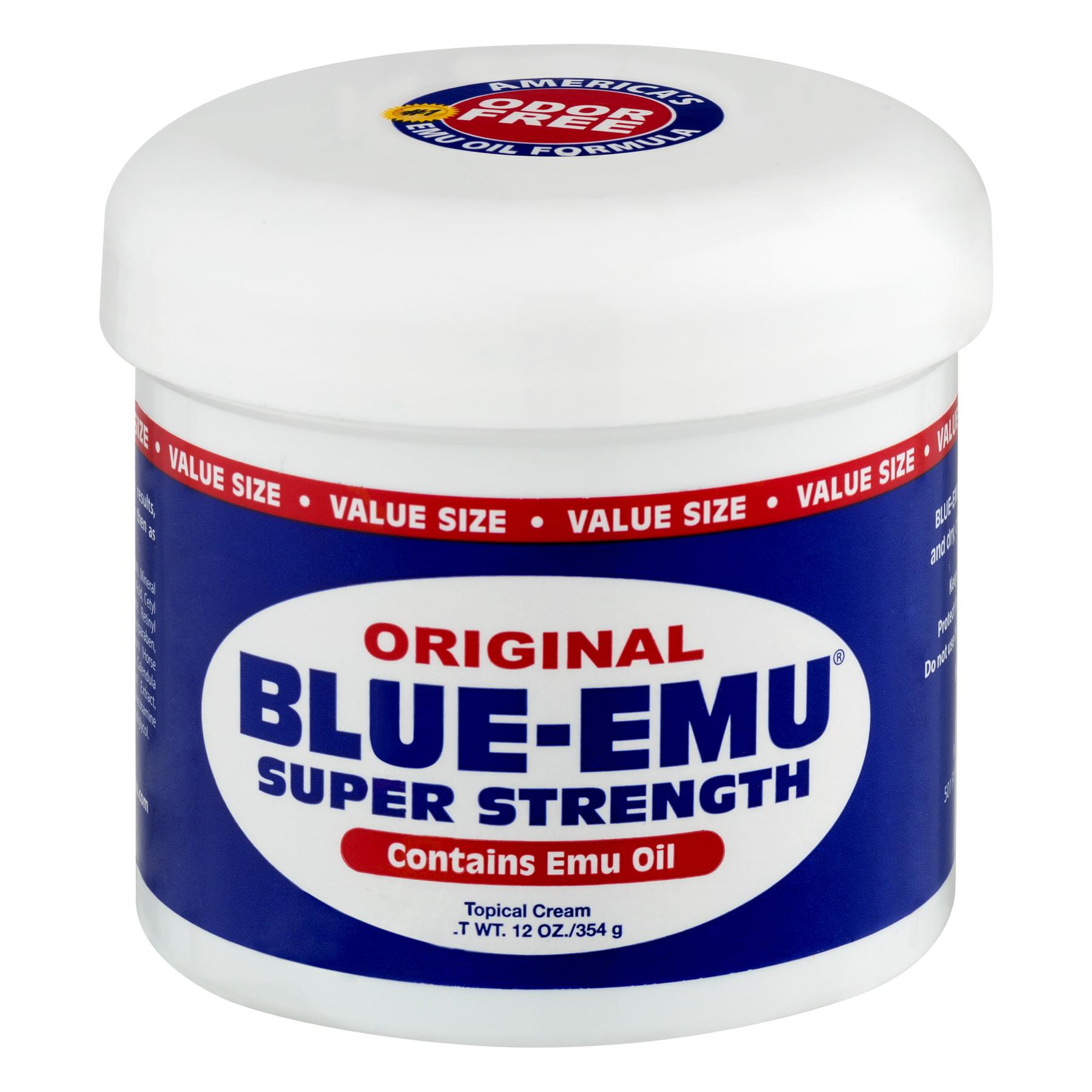Blue-Emu Super Strength Topical Cream, 12 oz