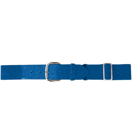 Augusta Sportswear Boy's Elastic Baseball Belt, Royal, One -