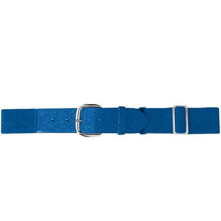 Augusta Sportswear Boy's Elastic Baseball Belt, Royal, One Size