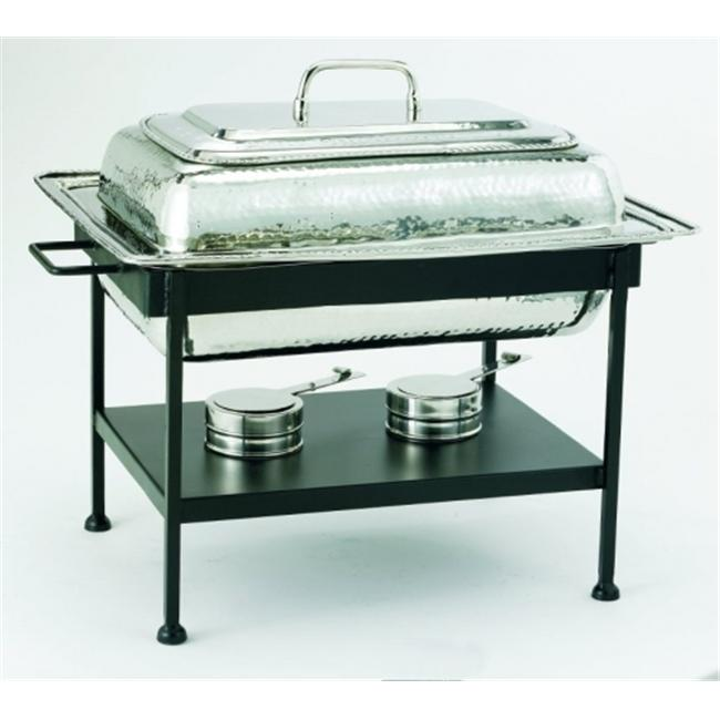 21 x 16 x 19 Inches Rectangular Stainless Steel Chafing Dish 8 Quarts by KitchenCuisine