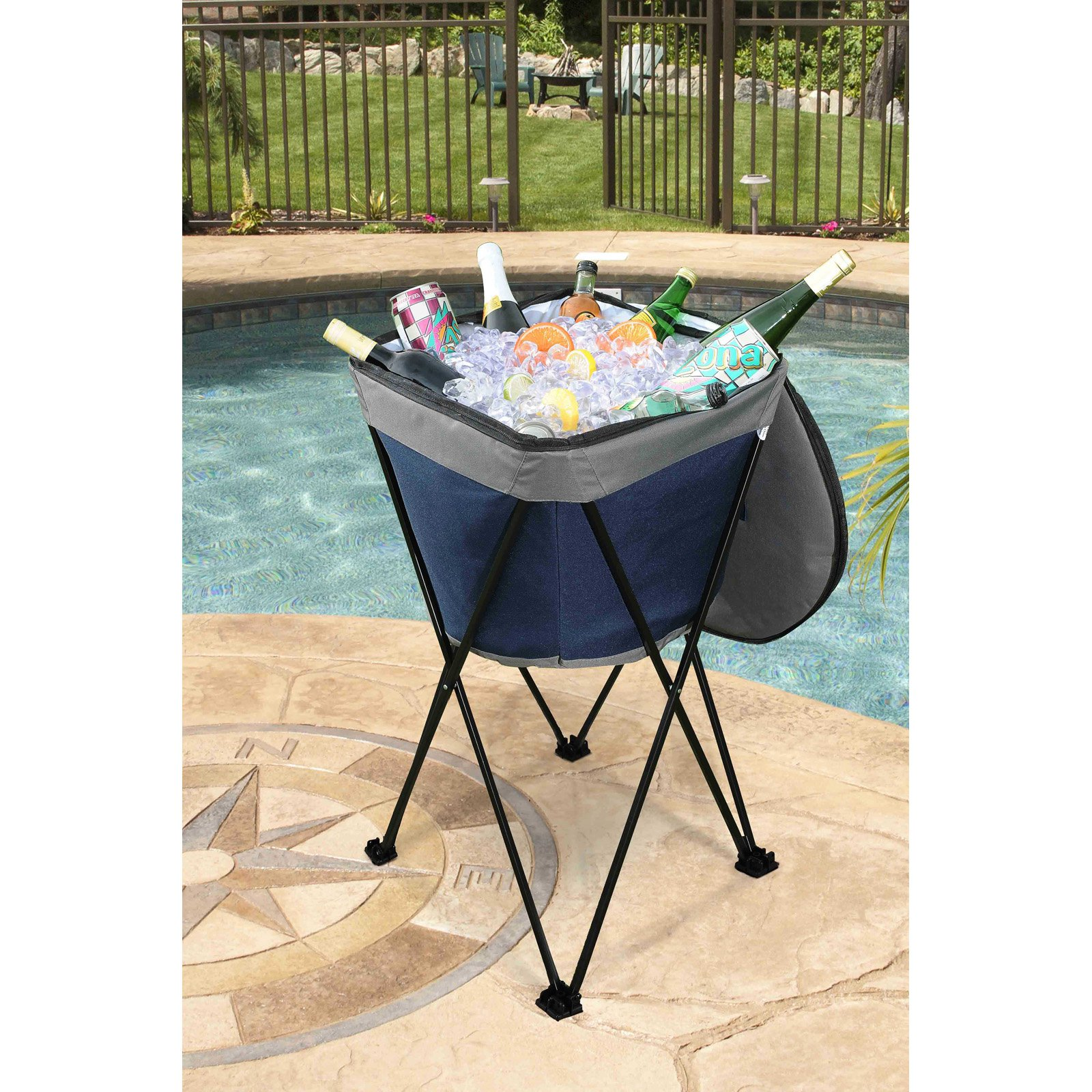 Sunjoy Carla Portable Ice Tub