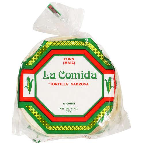 LA Comida: Tortillas Corn, 27 Oz
