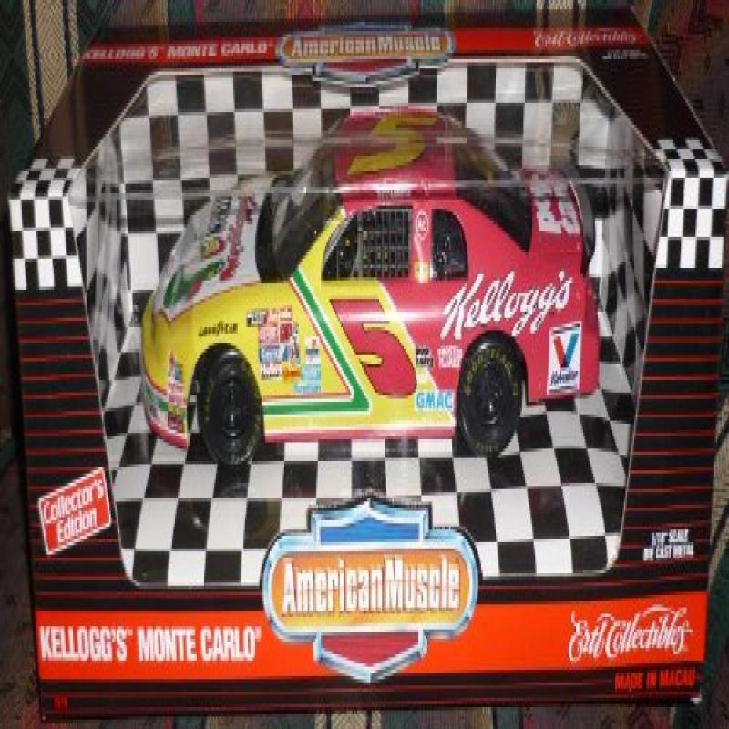 #7219 Ertl American Muscle Nascar Terry Labonte #5 Kellog...