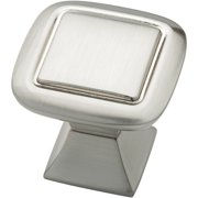 Liberty 32mm Square Knob with Square Base, Available in Multiple Colors