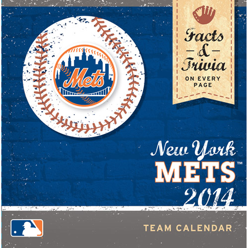Turner Licensing New York Mets 2014 Box Calendar