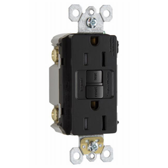 Pass & Seymour 1597TRCC4 15A, 120V Self Testing GFCI Receptacle, Brown - image 1 of 1
