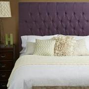 Humble + Haute Halifax Iris Purple Linen Tall Queen Diamond Tufted Upholstered Headboard