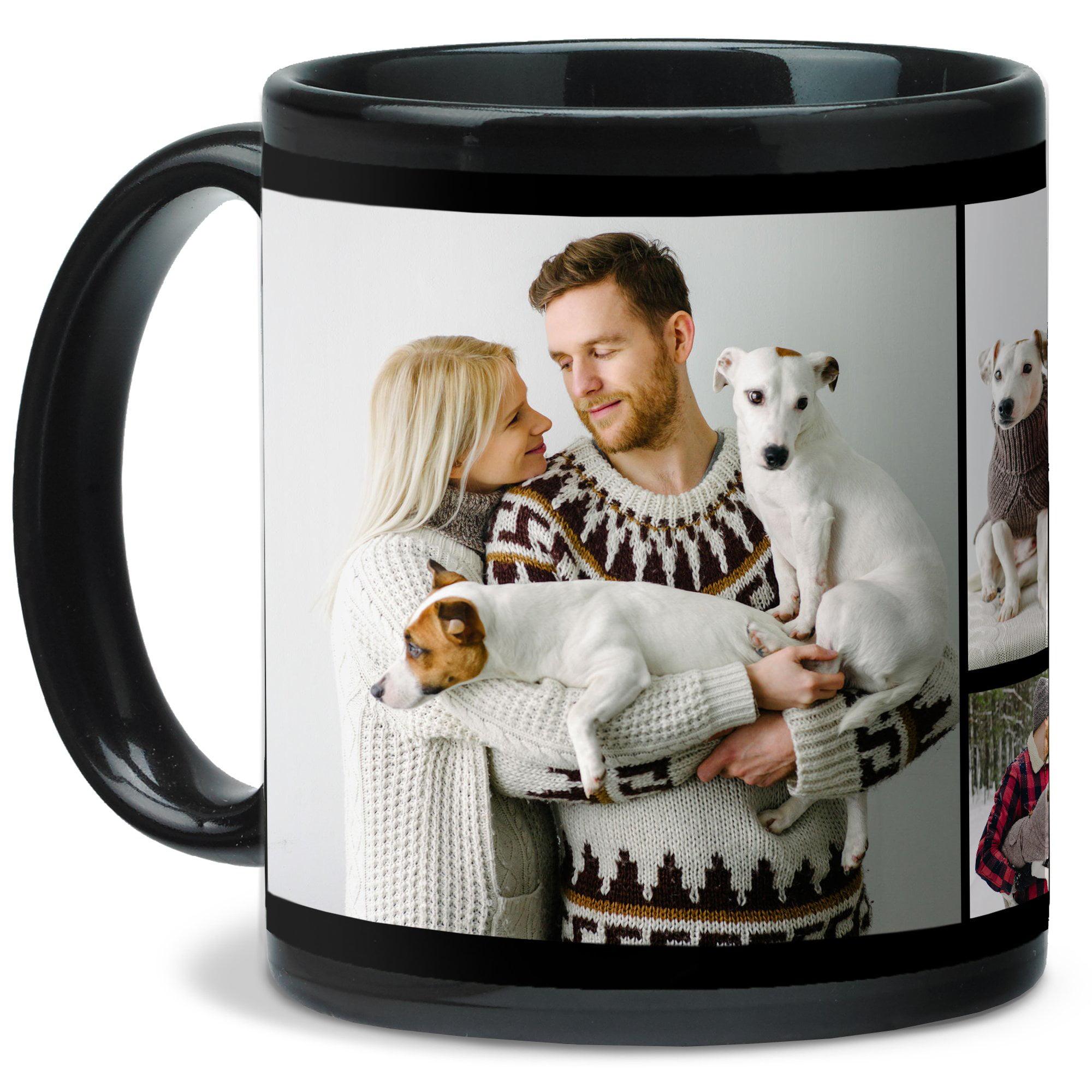 Black Collage Mug 11 oz
