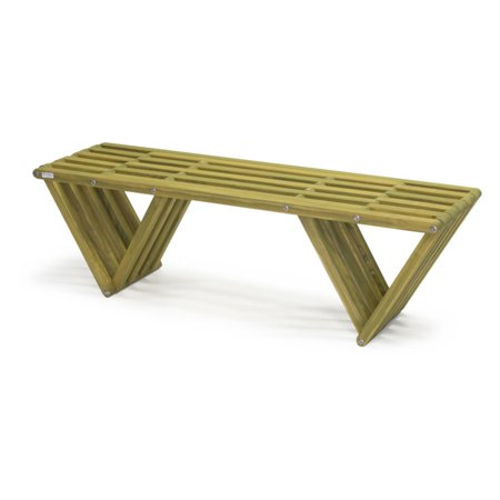 Fantastic Glodea Xquare X60 Wooden Backless Garden Bench Dailytribune Chair Design For Home Dailytribuneorg