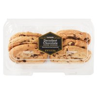 Marketside Decadent Chocolate Chunk Cookies, 6 ct