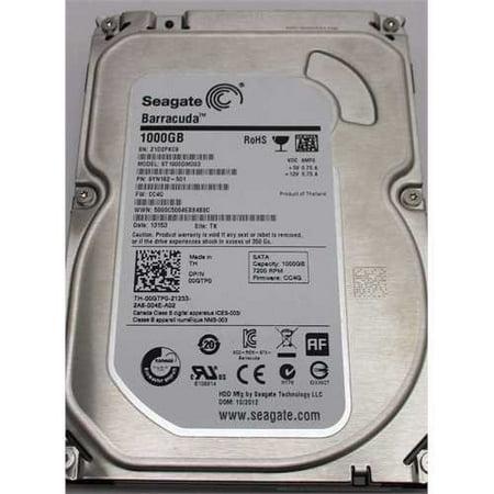 Refurbished Seagate 1TB Desktop HDD SATA 6Gb/s 64MB Cache 3.5-Inch Internal Bare Drive (ST1000DM003) ()