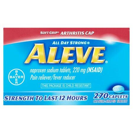 Aleve Analgésique / Fièvre Réducteur Caplets, 220mg, 270 count